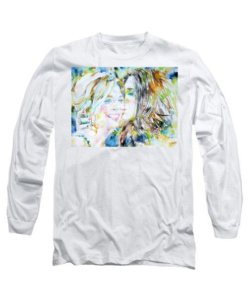 Friends Long Sleeve T-Shirt by Fabrizio Cassetta