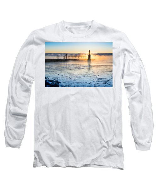 Frigid Sunrise Fog  Long Sleeve T-Shirt