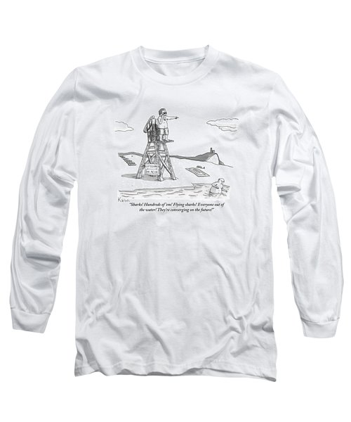 From Atop His Chair Long Sleeve T-Shirt