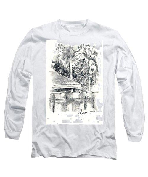 From The Breakfast Room Window Long Sleeve T-Shirt