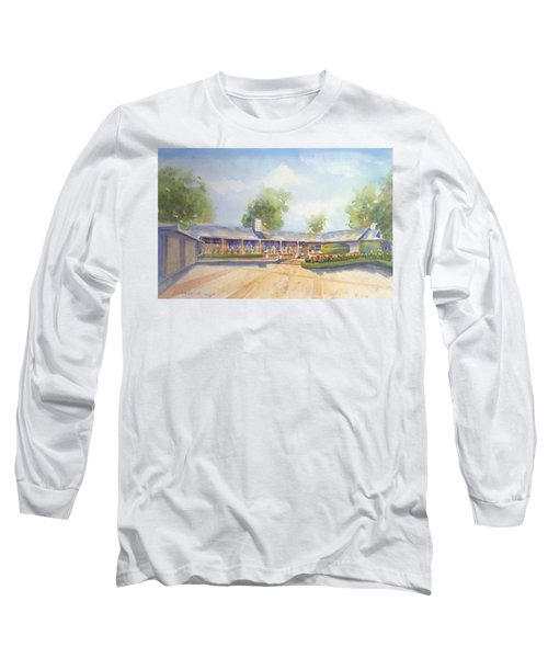 Front Of Home Long Sleeve T-Shirt by Debbie Lewis