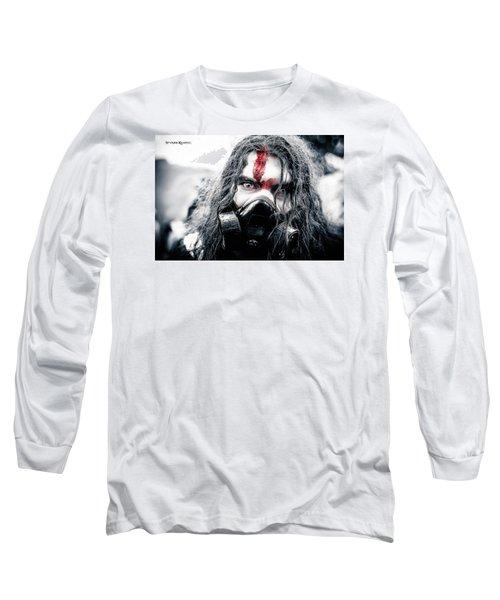 Long Sleeve T-Shirt featuring the photograph Frozen Blood by Stwayne Keubrick