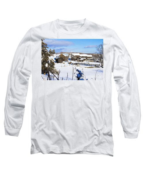 Frozen In Time Two In Color Long Sleeve T-Shirt