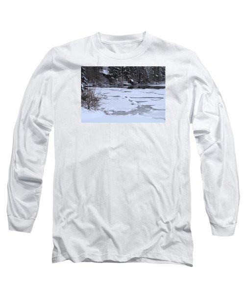 Frozen Silence  Long Sleeve T-Shirt