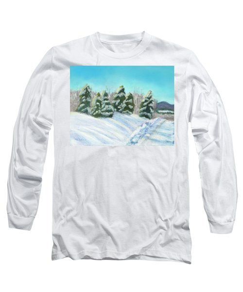 Frozen Sunshine Long Sleeve T-Shirt by Arlene Crafton