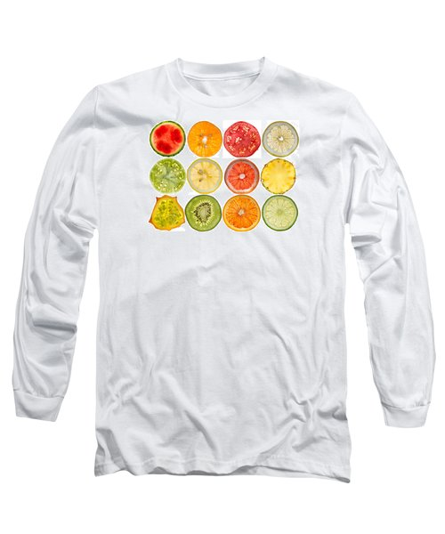 Fruit Market Long Sleeve T-Shirt by Steve Gadomski