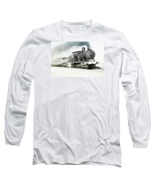 Long Sleeve T-Shirt featuring the photograph Full Steam Ahead by Kevin Chippindall