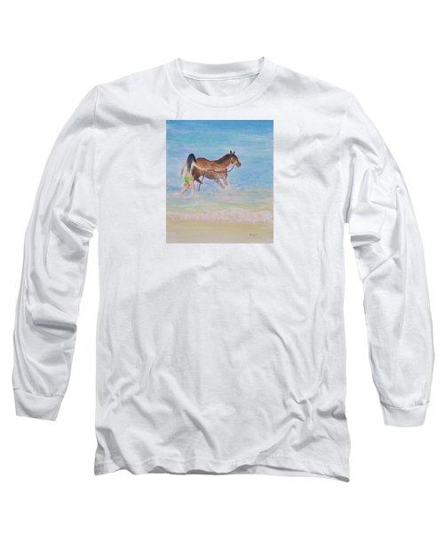 Fun On The Beach Long Sleeve T-Shirt