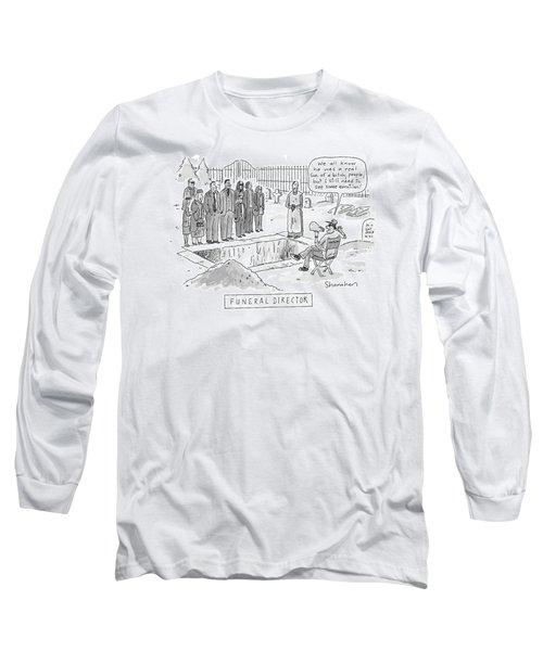 'funeral Director' Long Sleeve T-Shirt