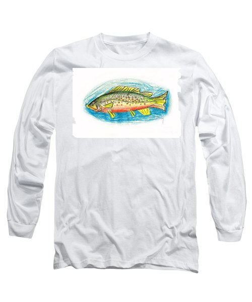 Funky Trout Long Sleeve T-Shirt