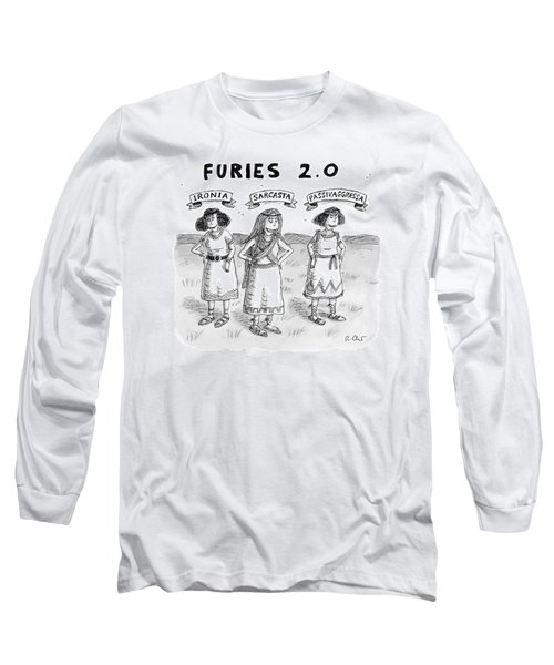 Furies 2.0 -- Ironia Long Sleeve T-Shirt
