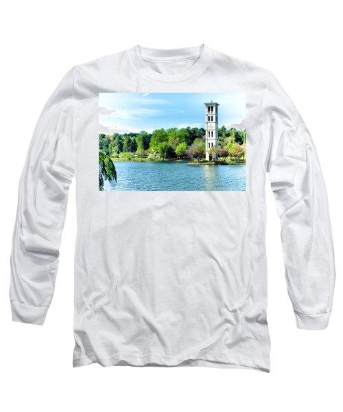 Furman Lake Long Sleeve T-Shirt by Lynne Jenkins