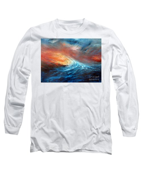 Fusion Long Sleeve T-Shirt by Valerie Travers
