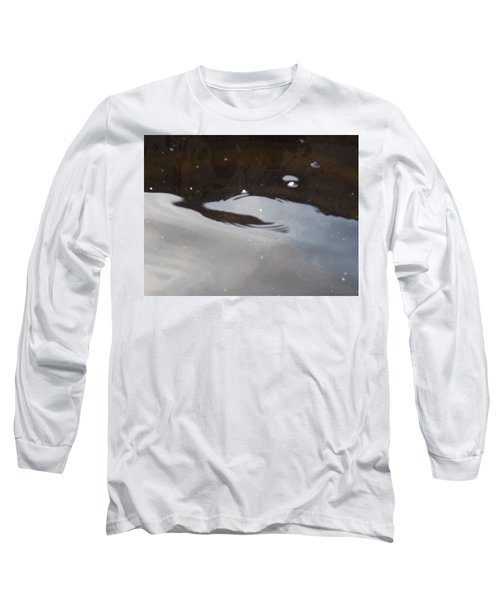 Water In Space  Long Sleeve T-Shirt