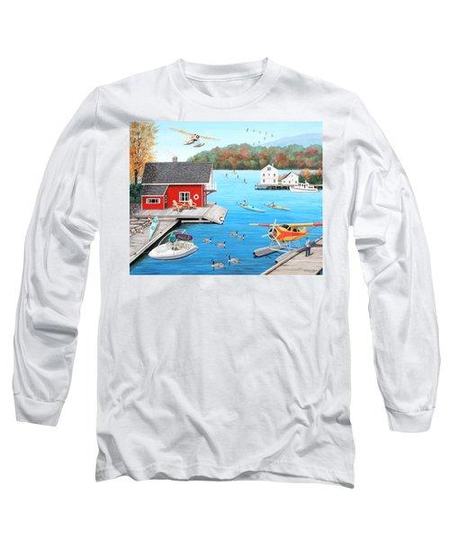 Galloping Goose Lake Long Sleeve T-Shirt
