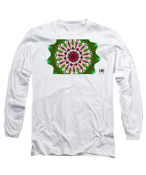 Long Sleeve T-Shirt featuring the digital art Garden Party by Elizabeth McTaggart
