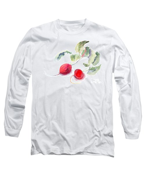 Garden Radish Long Sleeve T-Shirt