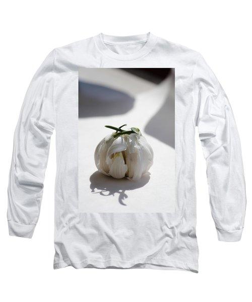 Garlic Clove Long Sleeve T-Shirt