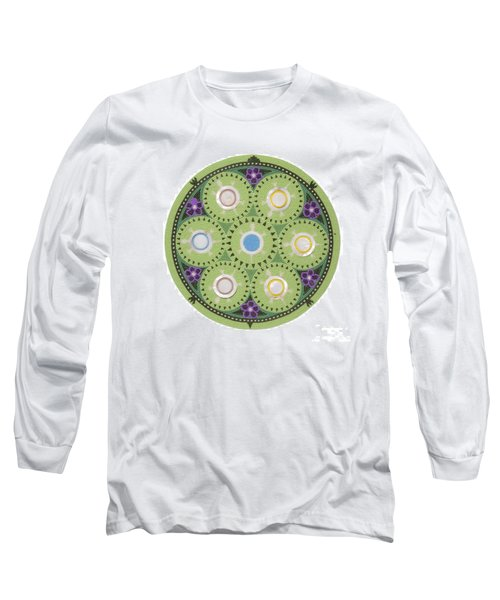 Cradleboard Beadwork Long Sleeve T-Shirt