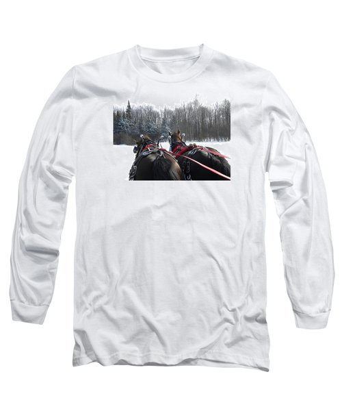 Gee And Haw Long Sleeve T-Shirt