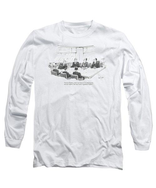General Hoskins Long Sleeve T-Shirt
