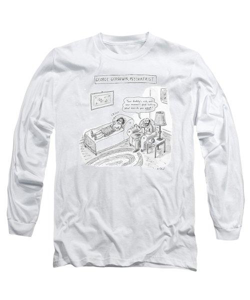 'george Gershwin Long Sleeve T-Shirt