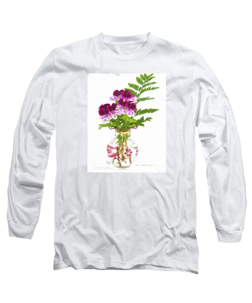 Geranium 'witchwood' Long Sleeve T-Shirt
