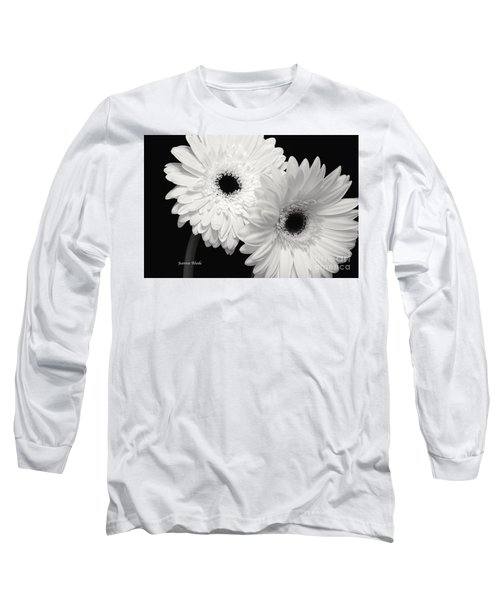 Long Sleeve T-Shirt featuring the photograph Gerbera Daisy Sisters by Jeannie Rhode