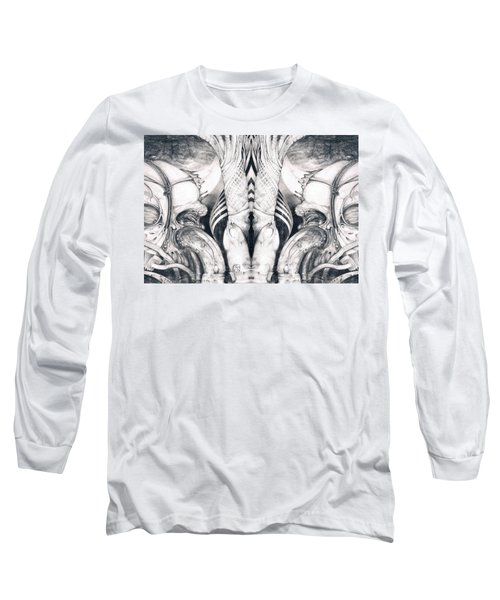 Ghost In The Machine - Detail Mirrored Long Sleeve T-Shirt