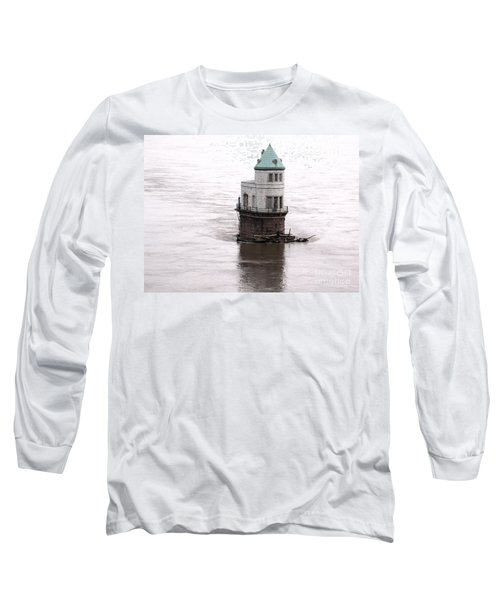 Ghost In The Window Long Sleeve T-Shirt by Kelly Awad