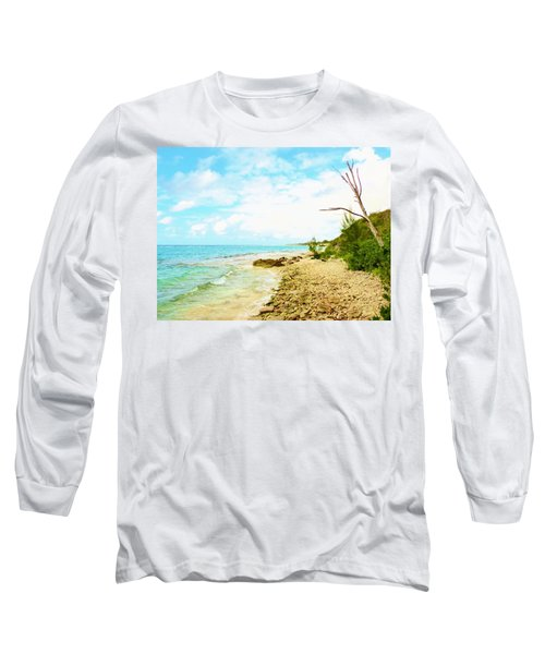 Long Sleeve T-Shirt featuring the photograph Ghost Tree by Amar Sheow