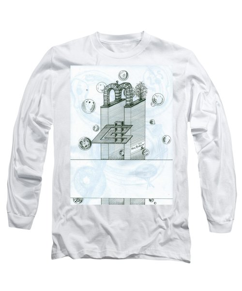 Ghostly Music 1 Long Sleeve T-Shirt