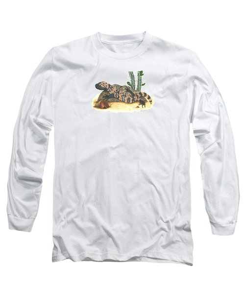 Gila Monster Long Sleeve T-Shirt by Cindy Hitchcock