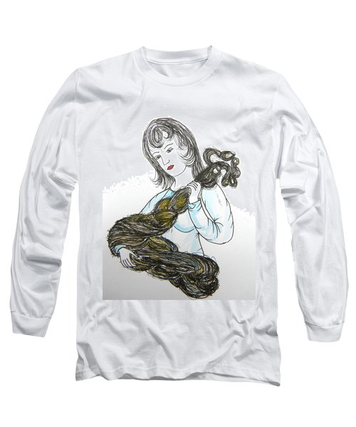 Girl And Tow Long Sleeve T-Shirt