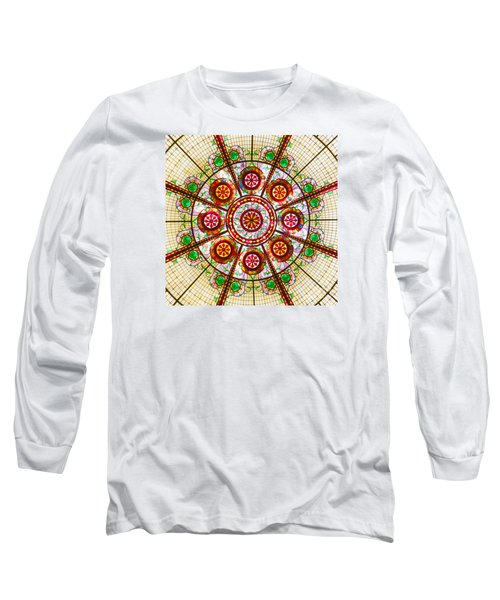 Long Sleeve T-Shirt featuring the photograph Glass Dome by Val Miller