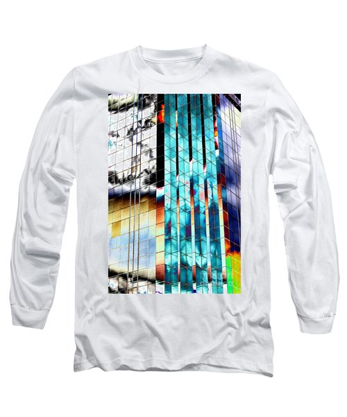 Long Sleeve T-Shirt featuring the photograph Glass House by Christiane Hellner-OBrien