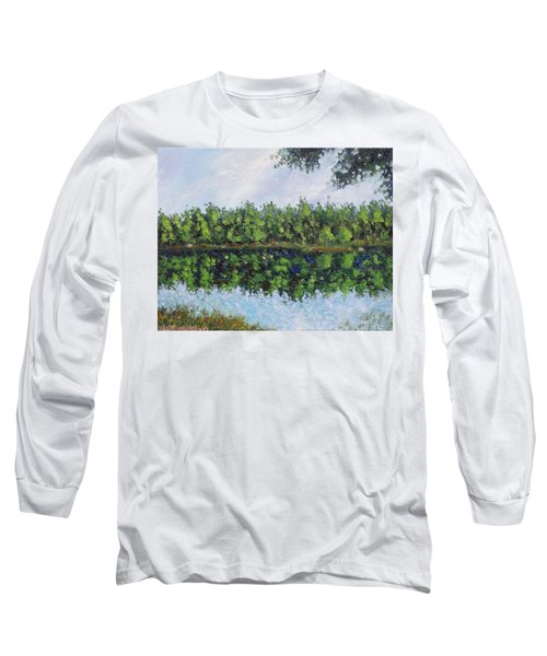 Glenoak Lake Long Sleeve T-Shirt by Jason Williamson