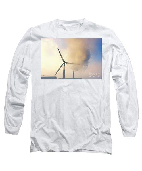 Gloomy Industrial View. Long Sleeve T-Shirt