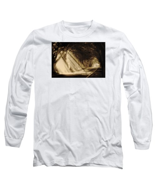 Glory Rays Long Sleeve T-Shirt by Priscilla Burgers
