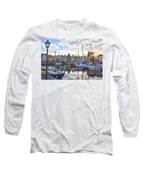 Goes Harbour Long Sleeve T-Shirt by Frans Blok