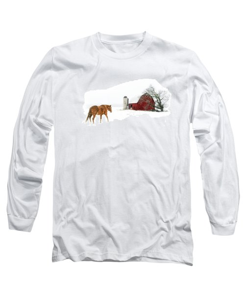 Long Sleeve T-Shirt featuring the photograph Going Home by Ann Lauwers
