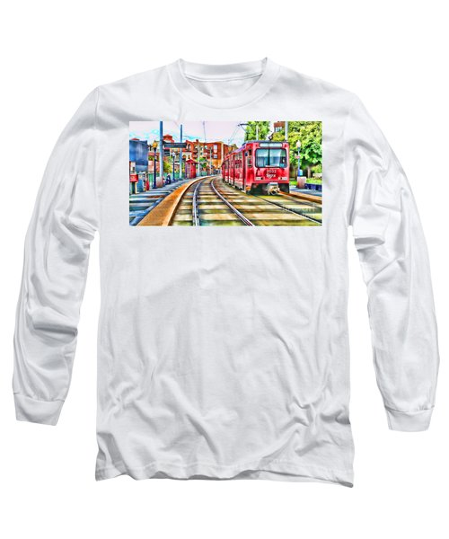 Going To Gillespie Field By Diana Sainz Long Sleeve T-Shirt