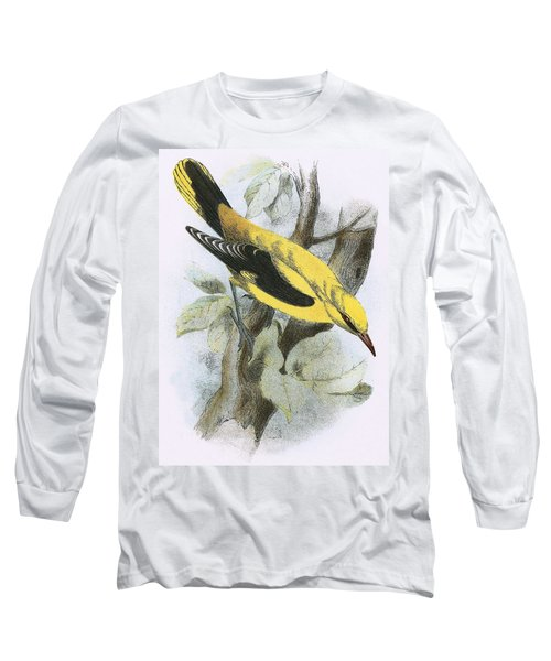Golden Oriole Long Sleeve T-Shirt by English School