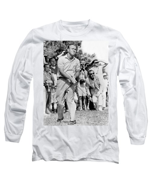 Golfer Arnold Palmer Long Sleeve T-Shirt