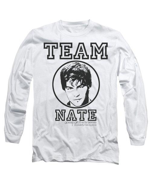 Gossip Girl - Team Nate Long Sleeve T-Shirt