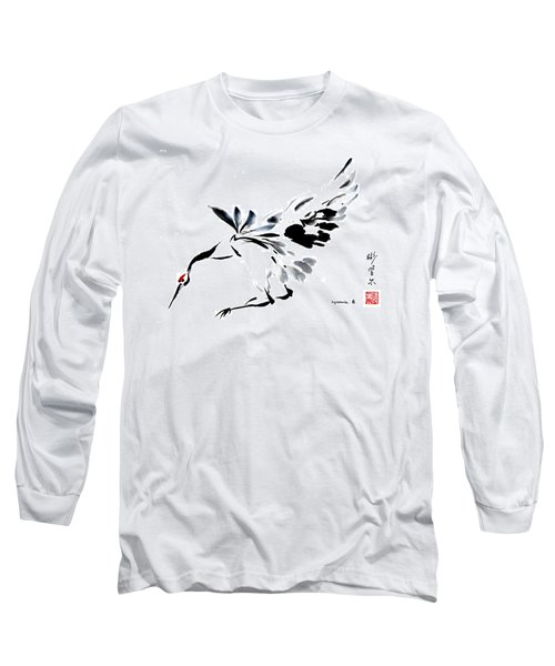 Long Sleeve T-Shirt featuring the painting Grace Of Fortune by Bill Searle