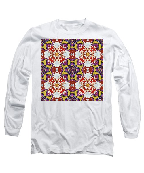 Graffito Kaleidoscope 40 Long Sleeve T-Shirt