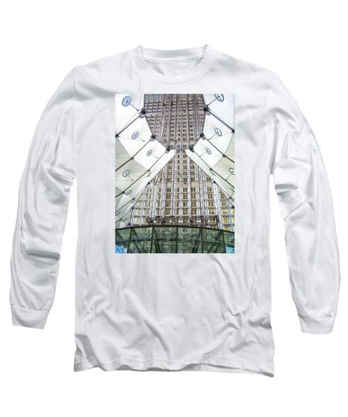 Grand Arche  Long Sleeve T-Shirt by Oleg Zavarzin