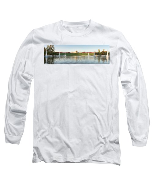 Grand Basin In Autumn Long Sleeve T-Shirt