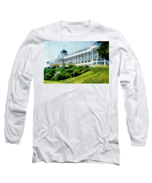 Grand Hotel Mackinac Island Ll Long Sleeve T-Shirt
